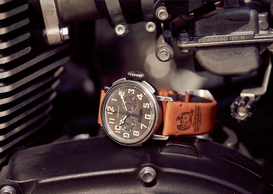 Zenith Heritage Pilot Ton-up DGR special edition