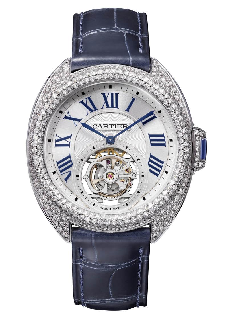 Clé de Cartier - Tourbillon Diamonds