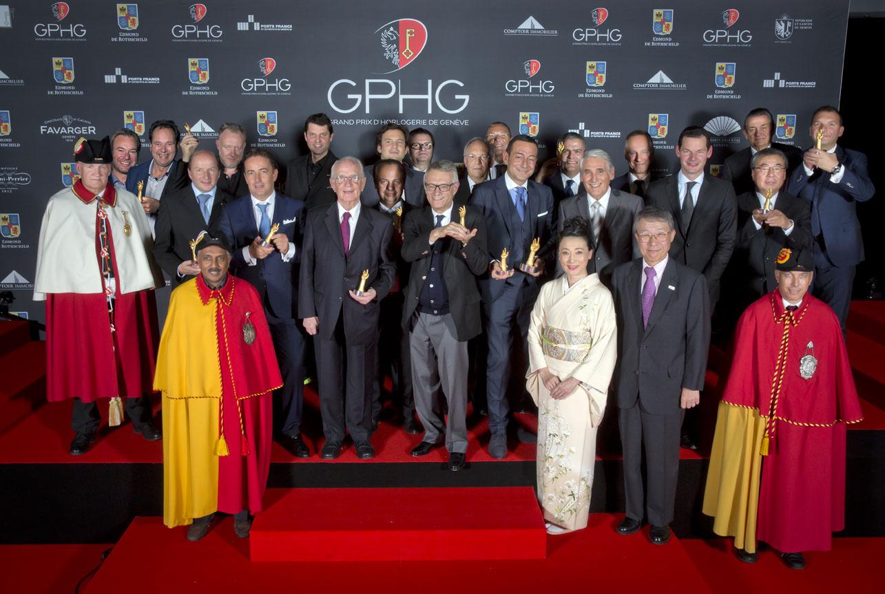 Ceremony of the Grand Prix d'Horlogerie de Genève 2015