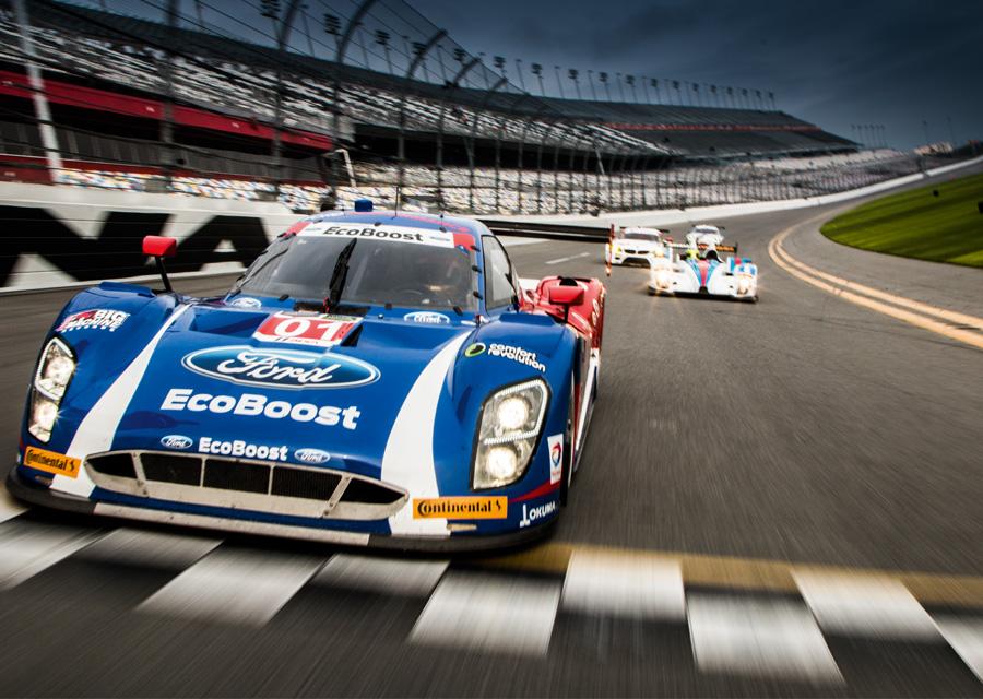 Daytona finish line