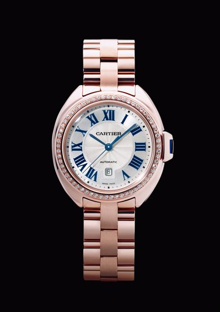 Clé de Cartier - Pink Gold Diamonds
