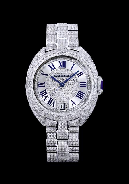 Clé de Cartier - Diamonds