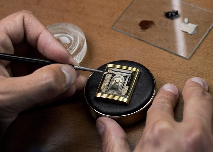 Jaeger-LeCoultre: a Reverso watch in tribute to the Scuola Grande di San Rocco - photo credit Johann Sauty