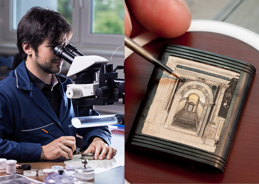 Jaeger-LeCoultre: a Reverso watch in tribute to the Scuola Grande di San Rocco - photo credit Johann Sauty and Eveline Perroud