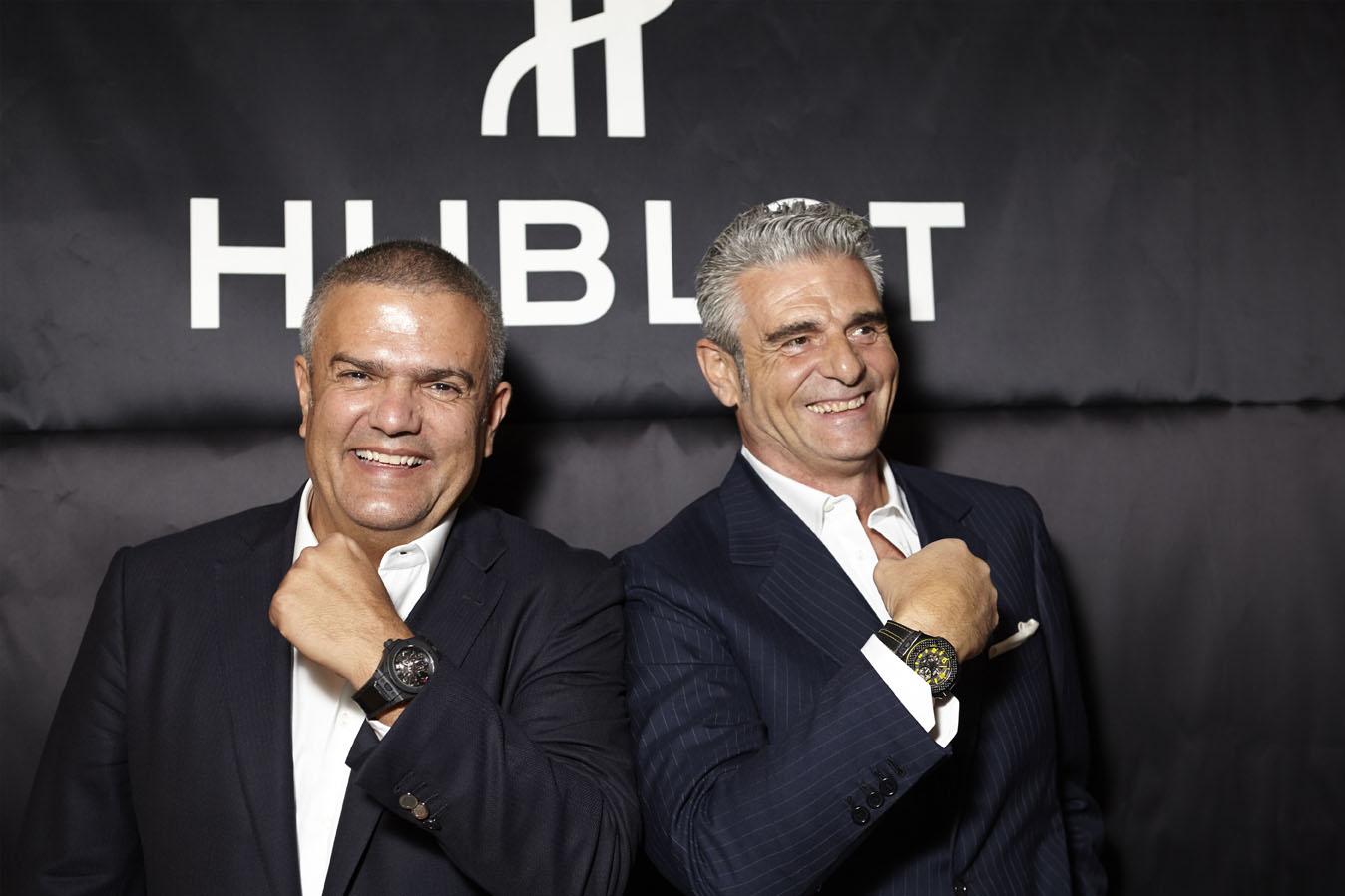 Hublot - Ricardo Guadalupe and Maurizio Arivabene