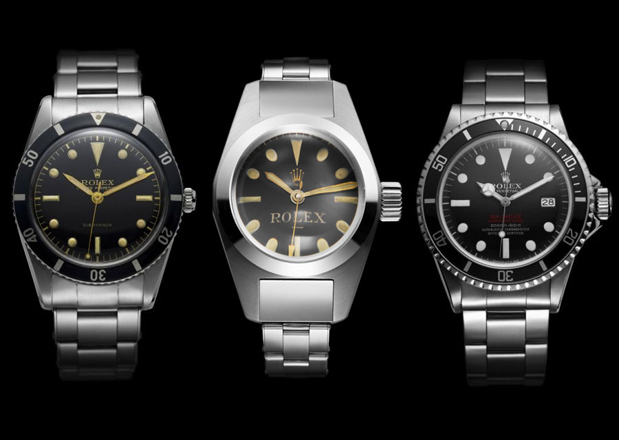 The performant heritage of the Sea-Dweller : first Submariner (1953) - Rolex Deep Sea Special (1960) - first Sea-Dweller (1967)
