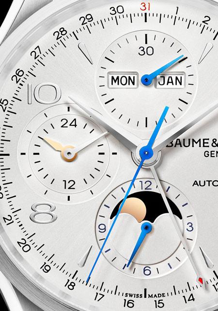 Baume & Mercier Clifton Chronograph Complete Calendar