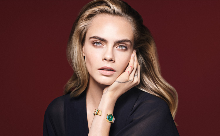 Cara Delevingne, ambassador of the new Gem Dior High Jewelry Collection