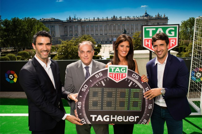 Tag Heuer steps up its football sponsorship