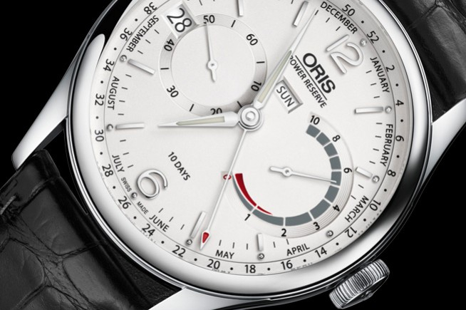 "Caliber 113, the new ""in-house"" movement of Oris"
