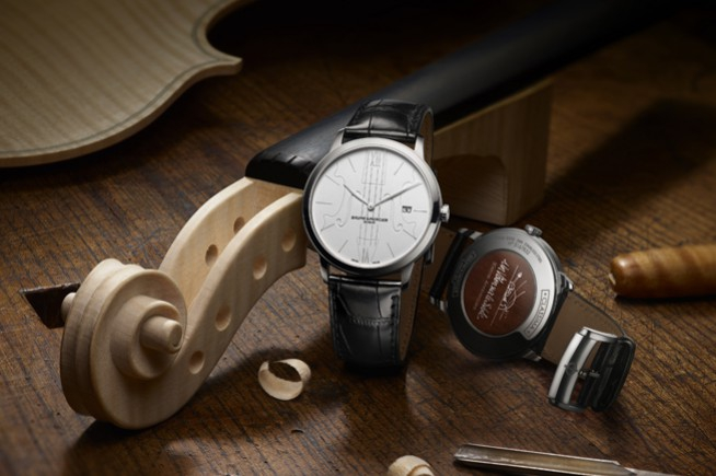 Baume & Mercier : An exclusive Classima watch for the most beautiful classic music festival