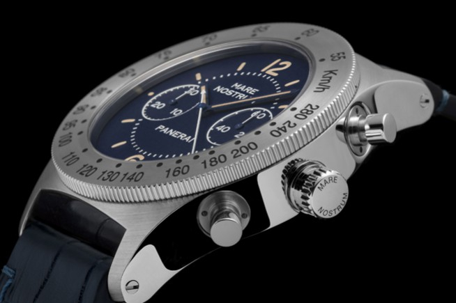 Mare Nostrum Acciaio : Panerai reveals a new edition of its emblematic chronograph