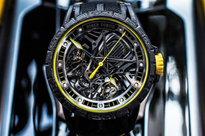 Roger Dubuis and Lamborghini Squadra Corse powered by raging mechanisms