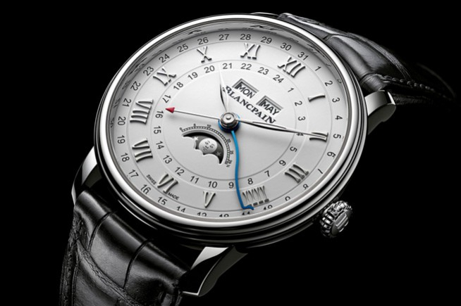 Baselworld 2018, Blancpain: a complete calendar for elegant travelers