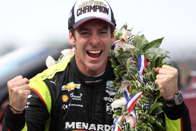 Simon Pagenaud, Patron of the Indianapolis 500 Miles with Richard Mille