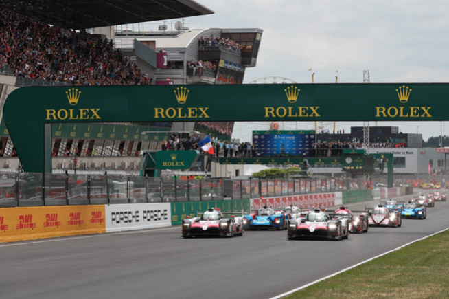 Rolex in the heart of the race at the 24 Hours of Le Mans