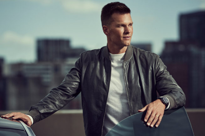 Tom Brady, new IWC's ambassador