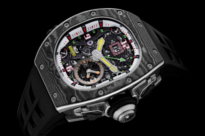 Richard Mille on vibrate mode