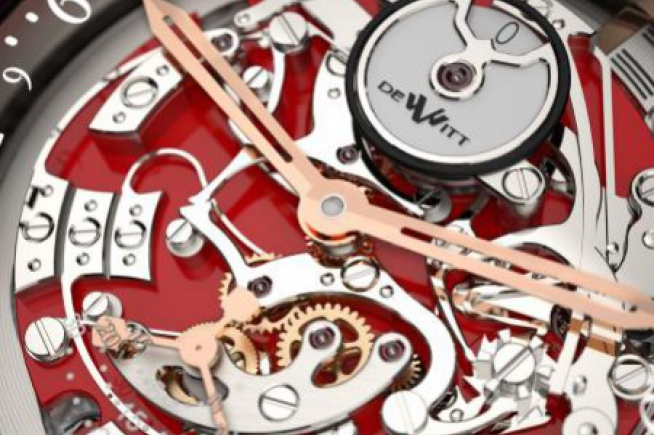 One reversible movement for DeWitt Only Watch 2011 timepiece