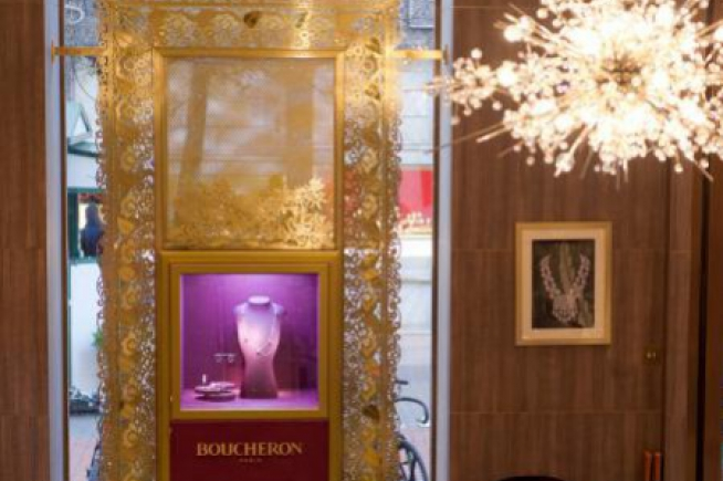 The new Boucheron New Bond Street London flagship