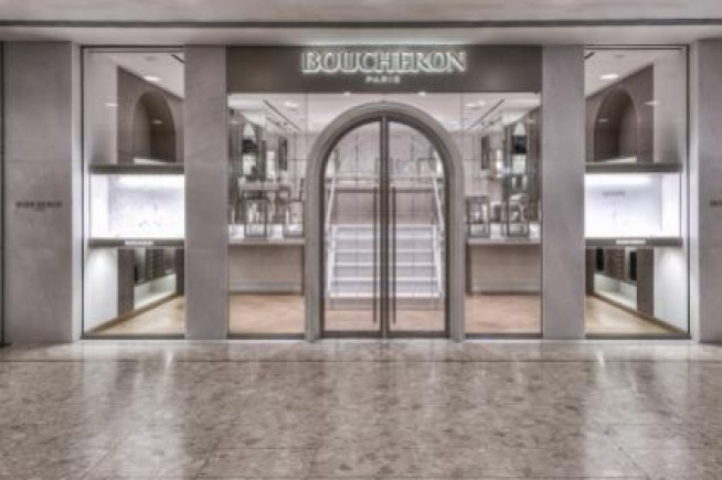The Maison Boucheron opens a new Boutique at Ocean Terminal in Hong Kong