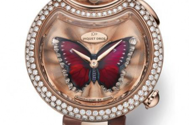 Jaquet Droz Baselworld 2015 : Lady 8 Flower