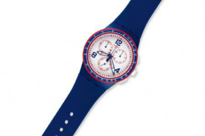 Swatch special editions for Rolland-Garros