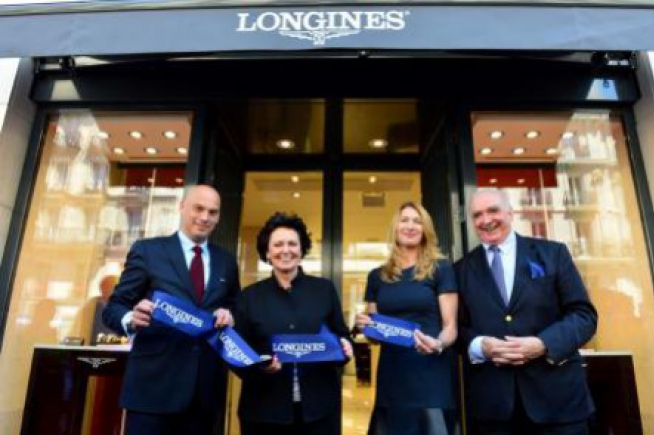 First exclusive Longines boutique in France