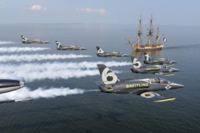 Breitling Jet Team praised the Hermione