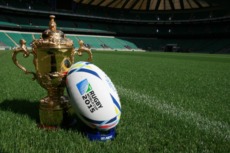 Tissot, Official Timekeeper of the Rugby World Cup
