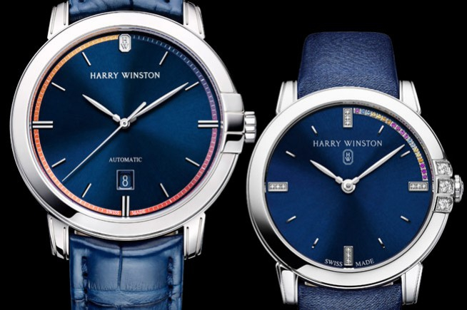 Harry Winston supports the action of amfAR with a new timepiece