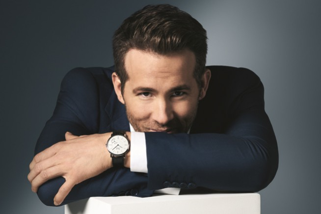 Ryan Reynolds: new ambassador of Piaget