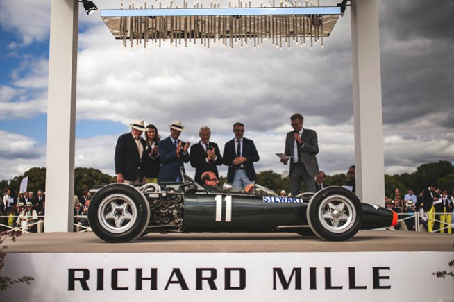 Richard Mille plays the elegance card at the Chantilly Domain
