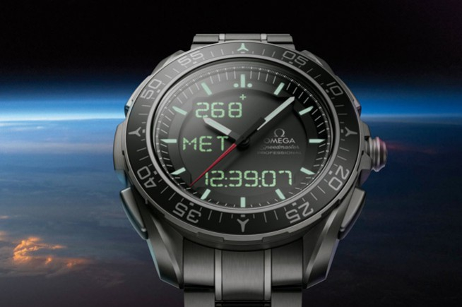 Omega in space with Thomas Pesquet