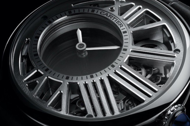 Rotonde de Cartier Time Mysterious Skeleton: a mysterious movement unveils its w