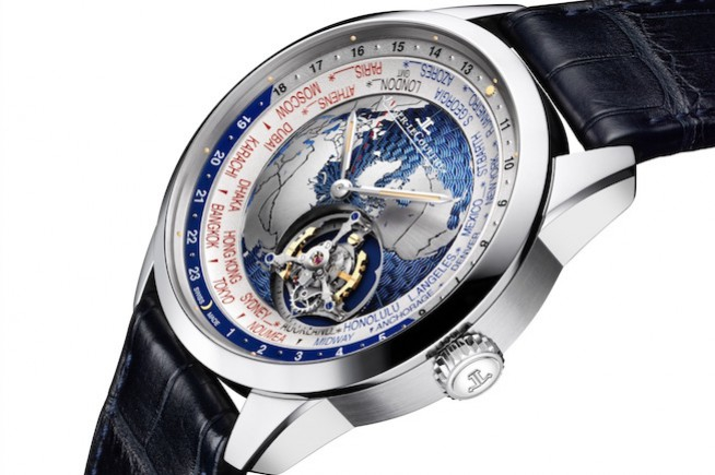 Jaeger-LeCoultre Geophysic Tourbillon Universal Time: an invitation to travel... and to precision