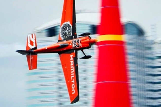 Hamilton becomes Official Timekeeper of the Red Bull Air Race World Championship