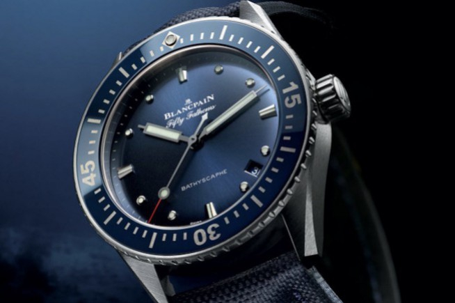 Blancpain Fifty Fathoms Bathyscaphe 38 mm: Universal diving