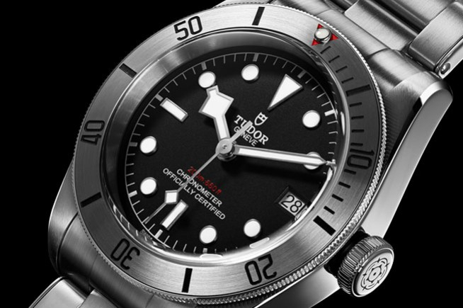 Tudor Heritage Black Bay Steel : the beautiful power of steel