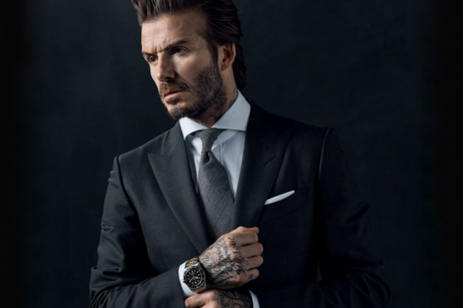 David Beckham, new ambassador for Tudor