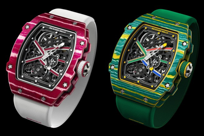 Richard Mille : two new sporty versions of the RM 67-01
