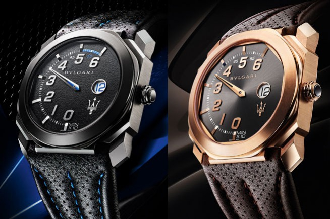 Two new special editions perpetuate the partnership between Bvlgari and Maserati