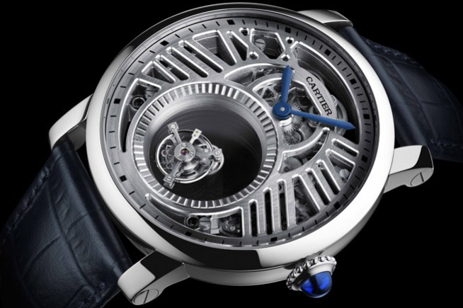 SIHH 2018 : mysterious mechanism and skeleton movement in the heart of Cartier