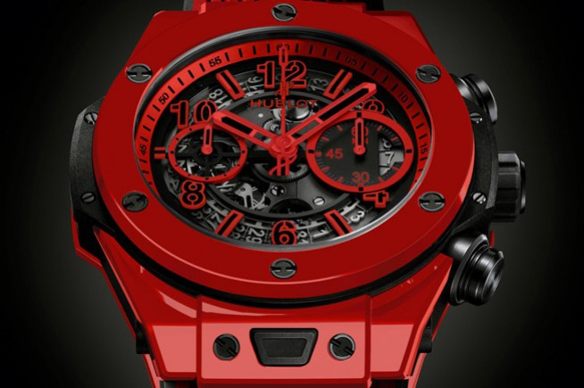 Hublot creates the first vibrantly coloured ceramic
