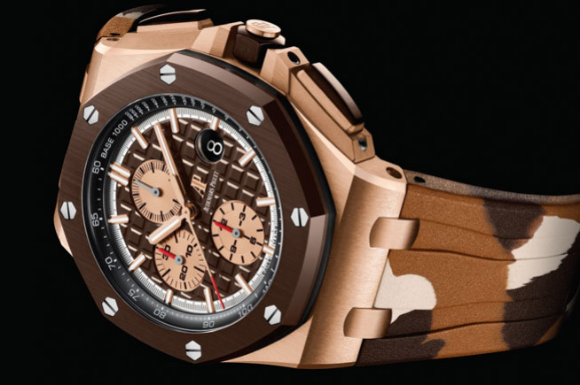 SIHH 2019, last lap with the Royal Oak Offshore for Audemars Piguet