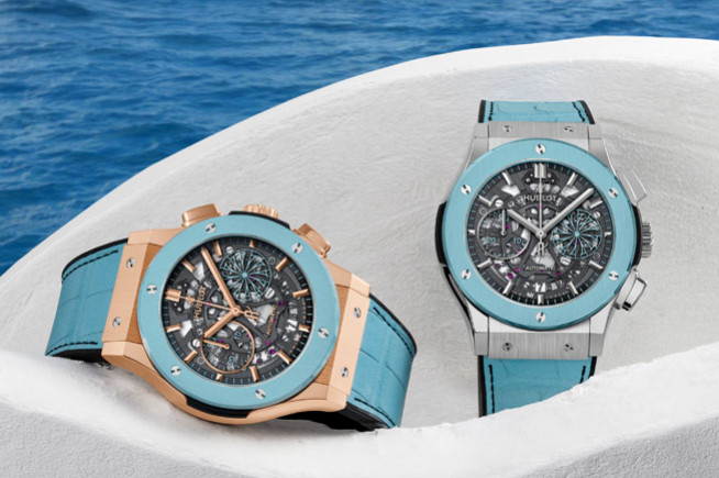 Hublot, summer time at Mykonos