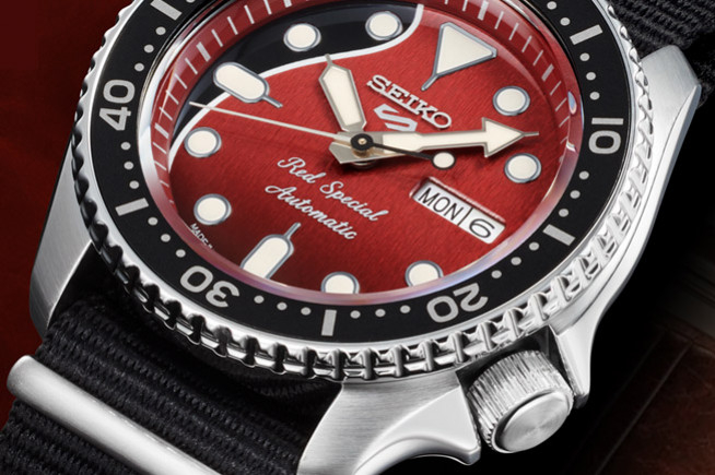 Seiko Red Special, a watch that will rock you