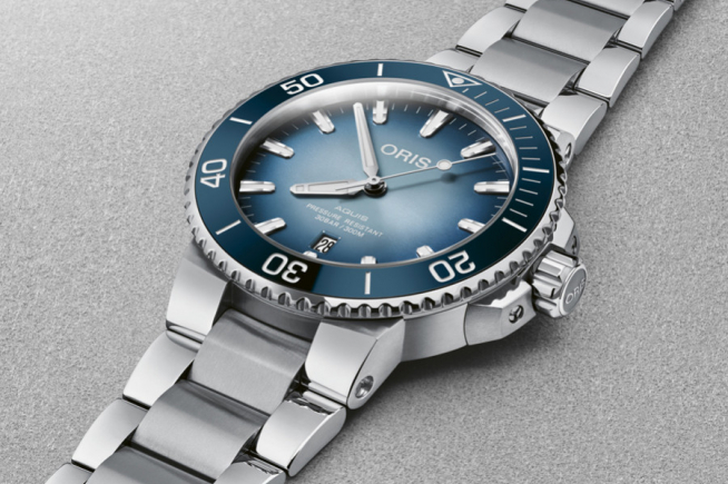 Technical and environment-committed: focus on Oris' divers' wristwatches