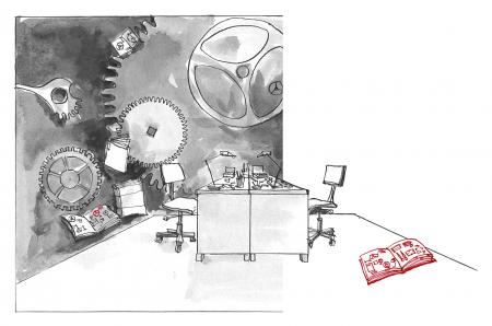 Cartier 5 - Movement Decoration and Assembly - H5 © Cartier 2013