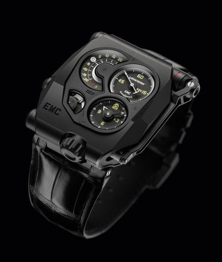 Innovation Watch Prize & Mechanical Exception Watch Prize: Urwerk, EMC